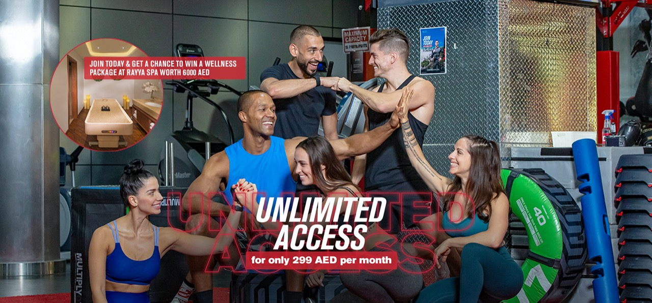 Unlimited Access for only 299AED per months